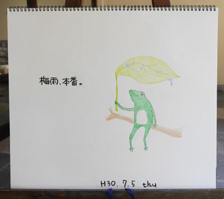 梅雨、本番。_b0364195_15062166.jpg