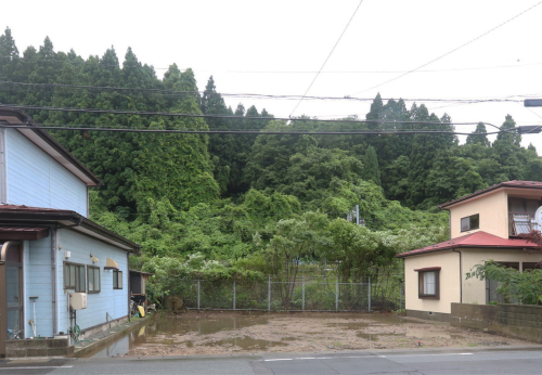 Q1住宅楢山太田町:旧家屋解体_e0054299_10362920.jpg