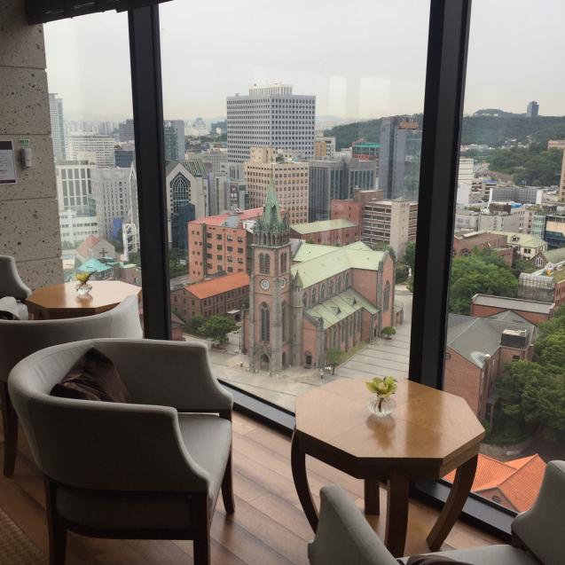 18年6月ソウル7☆ロイヤルホテルのラウンジで朝食_d0285416_19302253.jpg