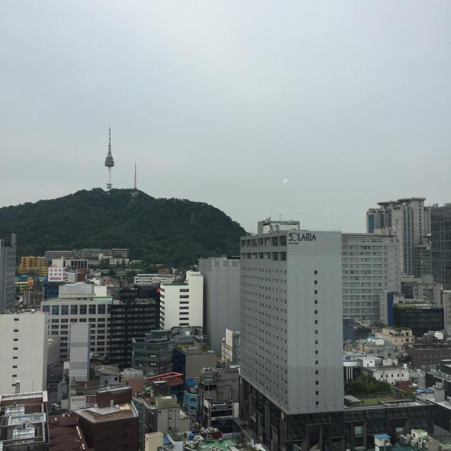18年6月ソウル7☆ロイヤルホテルのラウンジで朝食_d0285416_19302541.jpg