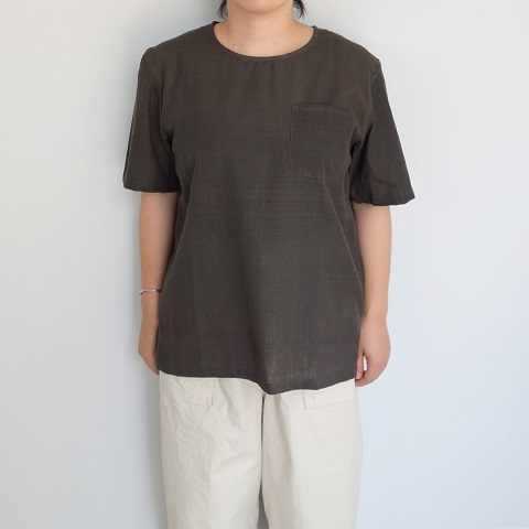 chahat : khadi T shirt with pocket_a0234452_18580649.jpg