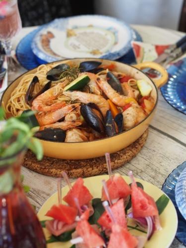夏野菜たちのテーブルで_d0144095_17290053.jpg