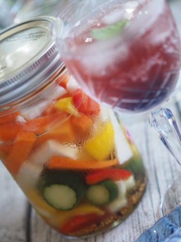 夏野菜たちのテーブルで_d0144095_17293448.jpg