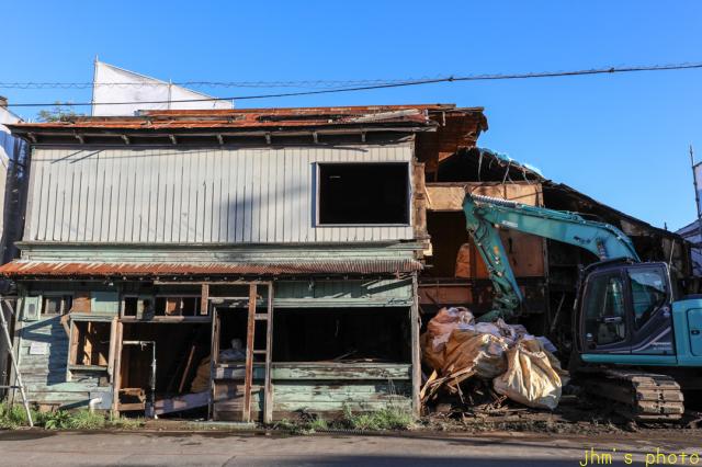 入舟町の庶民の和洋折衷住宅の解体_a0158797_23144409.jpg