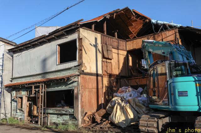 入舟町の庶民の和洋折衷住宅の解体_a0158797_23192445.jpg