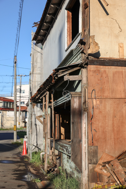 入舟町の庶民の和洋折衷住宅の解体_a0158797_23331602.jpg