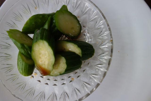 夏の食べ物。わらび餅と糠漬け。_d0101846_05490386.jpeg