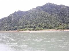 増水後の長良川_e0064783_08404709.jpg