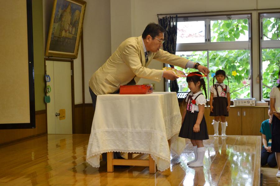 今日は、第二幼稚園の6月と7月生れのお誕生会でした。_d0353789_16172855.jpg