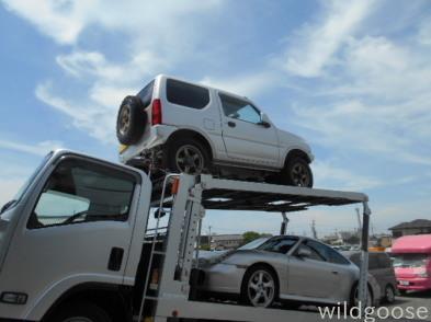 祝☆納車 H25年式 ジムニー XG 3インチリフトアップ 石川県へ♪陸送納車☆_c0213517_15300624.jpg