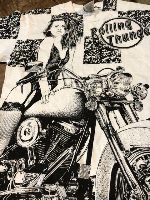 7月14日(土)入荷! 90s ROLLING THUNDER Tシャツ!_c0144020_13304950.jpg