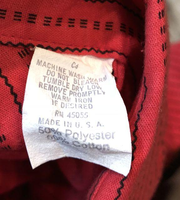 7月14日(土)入荷!デッドストック 80s B.Dシャツ!_c0144020_13362980.jpg