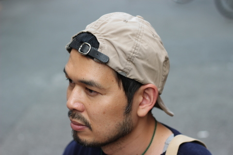 "「ANACHRONORM×DECHO」 夏に最適な""NYLON LEATHER BUCKLE CAP\"" ご紹介_f0191324_08304742.jpg"