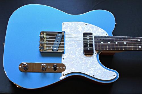 「King Fisher Blue MetallicのStandard-T」1本目が完成!_e0053731_16053049.jpg