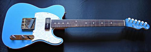 「King Fisher Blue MetallicのStandard-T」1本目が完成!_e0053731_16053074.jpg