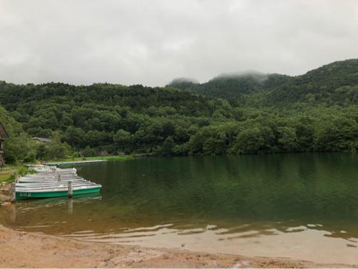 週末温泉プチ旅行☆早朝の湯ノ湖散歩♪_f0207146_20342299.jpg