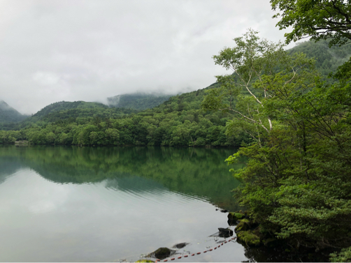 週末温泉プチ旅行☆早朝の湯ノ湖散歩♪_f0207146_20350938.jpg