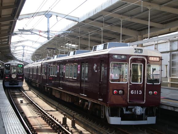 阪急6013F 通勤特急_d0202264_21402536.jpg