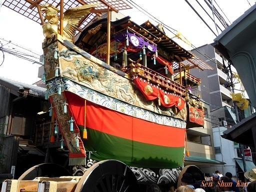 祇園祭 船鉾の厄除粽   2018年7月13日_a0164068_23221590.jpg