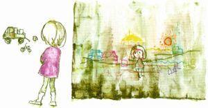 生誕100年 いわさきちひろ、絵描きです。@東京ステーションギャラリー_b0044404_08125032.jpg