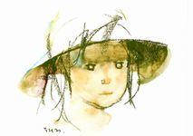 生誕100年 いわさきちひろ、絵描きです。@東京ステーションギャラリー_b0044404_09160554.jpg