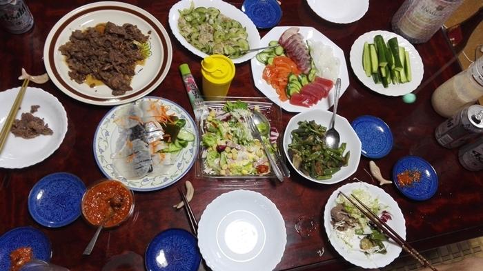 お中元と夕食!!_a0199979_21315240.jpg
