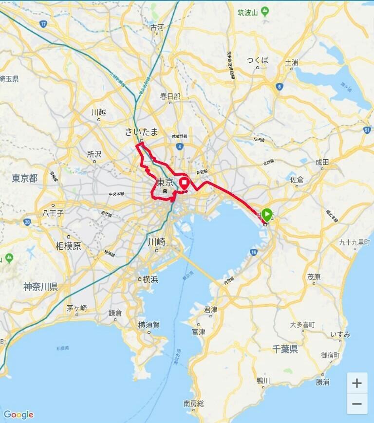 83 日目【千葉−東京①】都会のジャングルは大変です!_e0201281_05224137.jpg