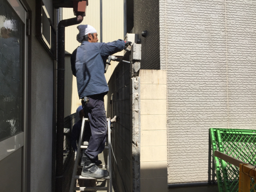 ブロック塀解体撤去工事です。_f0052181_11123124.jpg