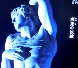 """ミケランジェロ """"人間""""のすべてを彫る @日曜美術館_b0044404_21462666.jpg"""
