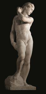 """ミケランジェロ """"人間""""のすべてを彫る @日曜美術館_b0044404_21502146.jpg"""