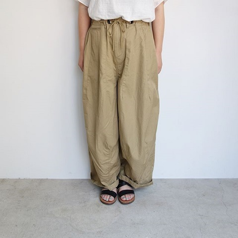 Needles Women : H.D Pant - Military_a0234452_16175908.jpg