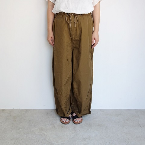 Needles Women : H.D Pant - Military_a0234452_16180343.jpg