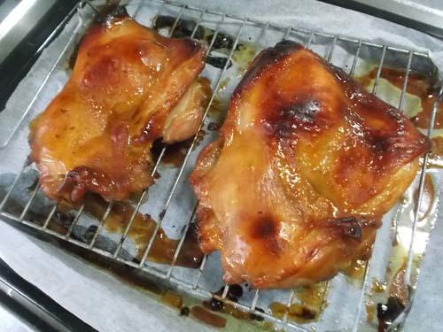 オーブンで鶏チャーシュー&しめ鯖サラダ_f0019498_07542003.jpg