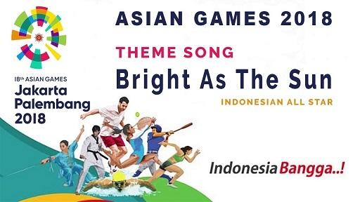 2018アジア大会のオフィシャルソング:Bright As The Sunの日本語版は加藤ひろきあさん _a0054926_23311037.jpg