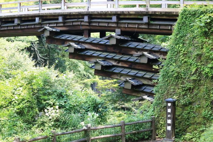 【甲斐の猿橋】 長野合宿 - 1-_f0348831_17482691.jpg