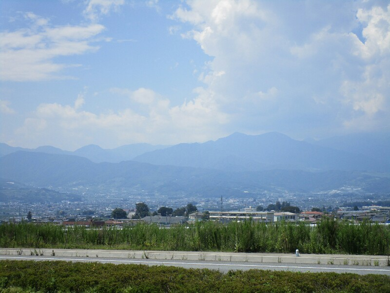 85日目【多摩−甲府】甲州街道は暑かった_e0201281_17373428.jpg