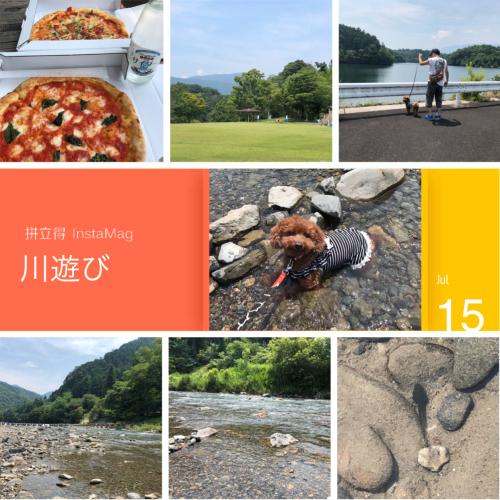 上石津散歩とチョコの川遊び☆_e0159185_18292928.jpeg
