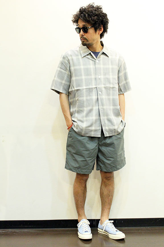 """TOWN CRAFT (タウンクラフト) \"""" omble open ss shirts \""""_b0122806_14204457.jpg"""