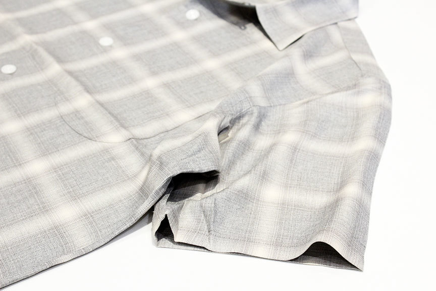 """TOWN CRAFT (タウンクラフト) \"""" omble open ss shirts \""""_b0122806_14221393.jpg"""