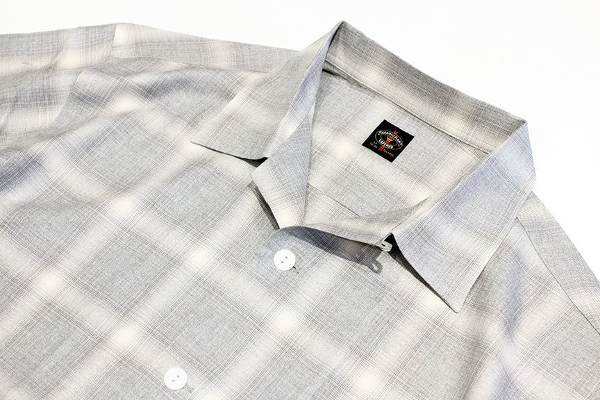 """TOWN CRAFT (タウンクラフト) \"""" omble open ss shirts \""""_b0122806_14221683.jpg"""