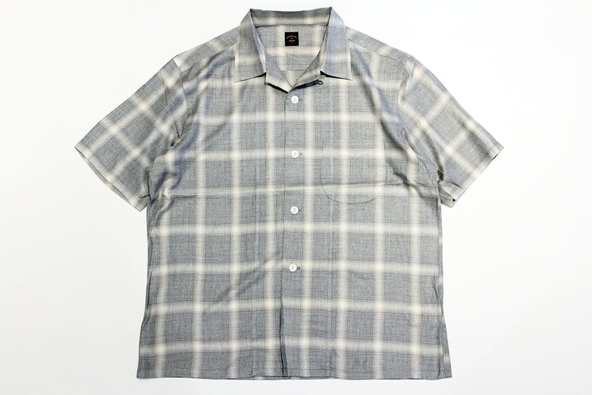 """TOWN CRAFT (タウンクラフト) \"""" omble open ss shirts \""""_b0122806_14221836.jpg"""
