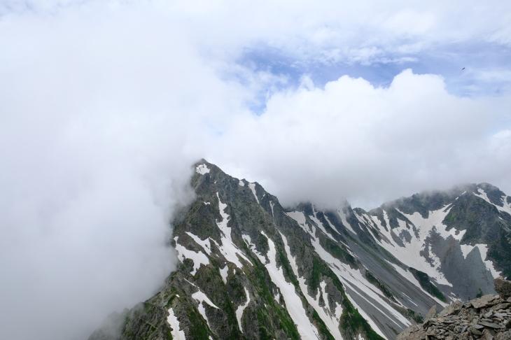 一人登山 前穂高岳 奥穂高岳_e0000910_09222508.jpg