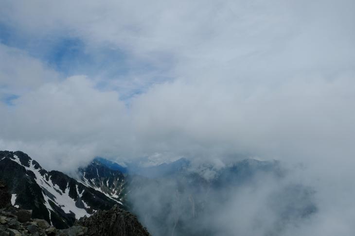 一人登山 前穂高岳 奥穂高岳_e0000910_09224148.jpg