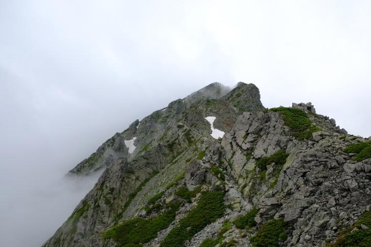 一人登山 前穂高岳 奥穂高岳_e0000910_09414211.jpg