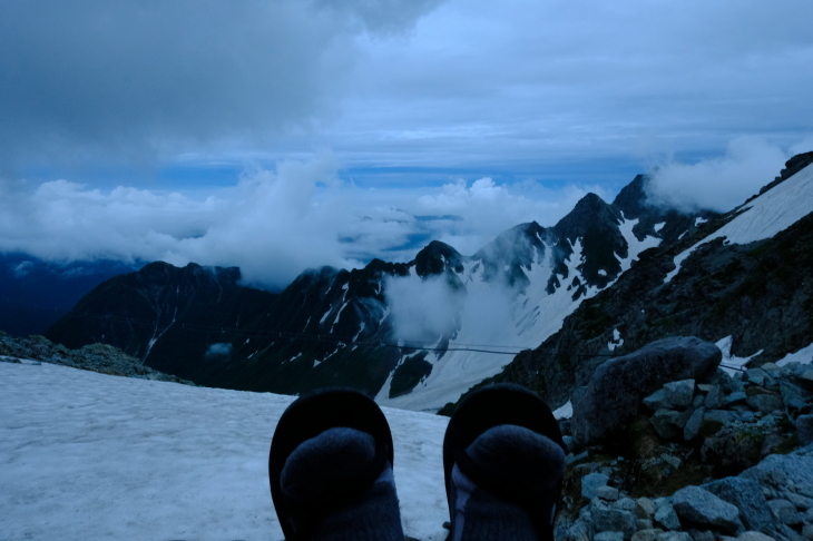 一人登山 前穂高岳 奥穂高岳_e0000910_09564525.jpg