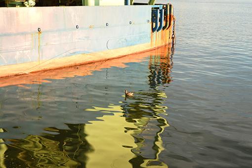 夕陽の港湾_b0259218_02462338.jpg