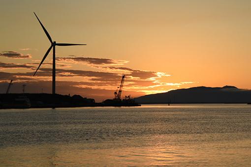 夕陽の港湾_b0259218_02512741.jpg