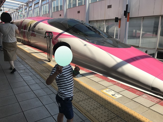 キティちゃん新幹線!_d0177220_13425300.jpg