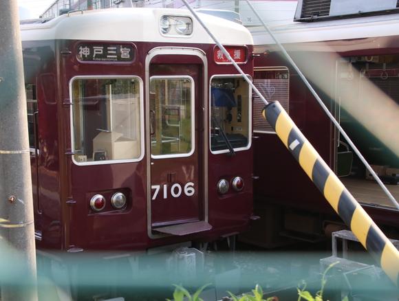 阪急正雀みたまま 阪急7006F 改造??_d0202264_20413310.jpg