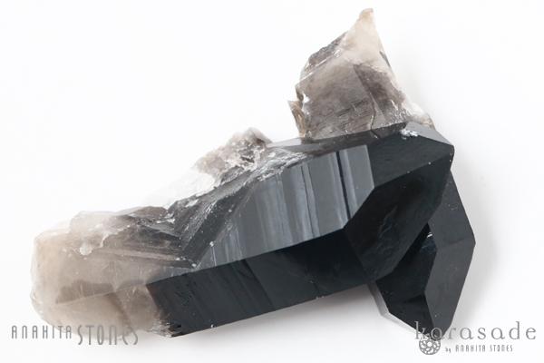 黒水晶クラスター アメリカ・アーカンソー州産_d0303974_17145017.jpg